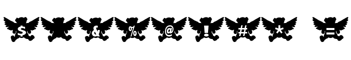 Angel Bear Font OTHER CHARS