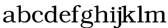 Angleterre Book Font LOWERCASE