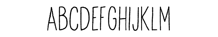 Anitype Redwood 1 Font LOWERCASE