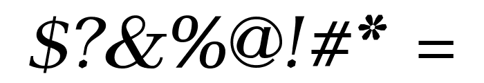 AntPoltExpd-Italic Font OTHER CHARS