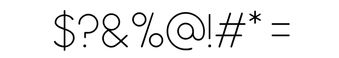 Antipasto ExtraLight Font OTHER CHARS