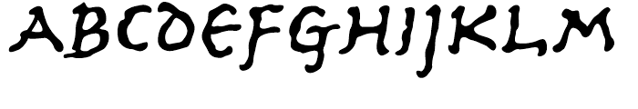 Ancient Astronaut Regular Font LOWERCASE