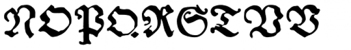 Andreae Font UPPERCASE