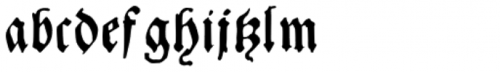Andreae Font LOWERCASE