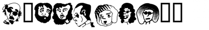 Anns Characters Font OTHER CHARS