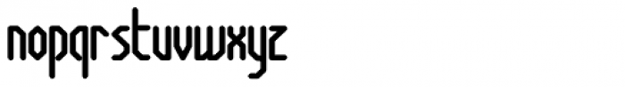 Anoxia AOE Bold Font LOWERCASE