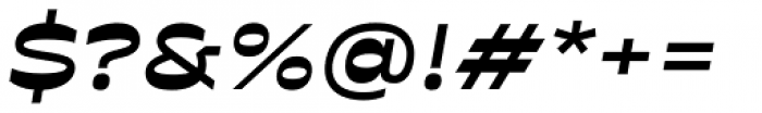 Antipol Extended Bold Italic Font OTHER CHARS