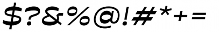 Antipol Extended Medium Italic Font OTHER CHARS