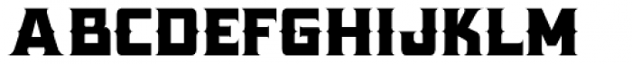 Antler Condensed West Font LOWERCASE