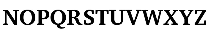 Apparatus SIL Bold Font UPPERCASE