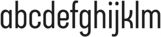 Arch Condensed otf (400) Font LOWERCASE