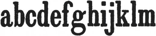 Archive Antiqua Extra Cond Regular otf (400) Font LOWERCASE
