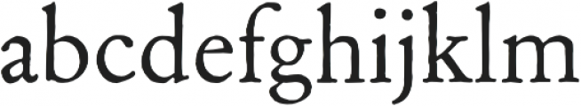 Archive Garamond Pro Regular otf (400) Font LOWERCASE