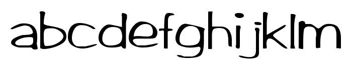 Arctic Regular Font LOWERCASE