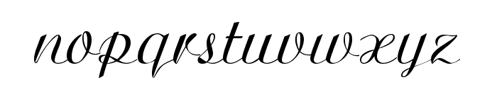 Ariston Normal Font LOWERCASE