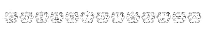 Armorial Font LOWERCASE