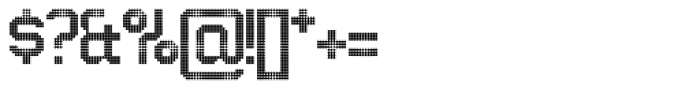 Architype Ingenieur Dot Font OTHER CHARS