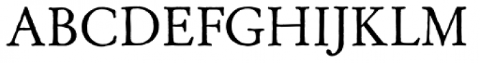 Archive Garamond Std Font UPPERCASE