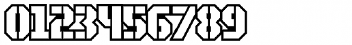 Area51 Military Open Font OTHER CHARS