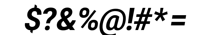 Asimov Pro Bold Oblique Font OTHER CHARS