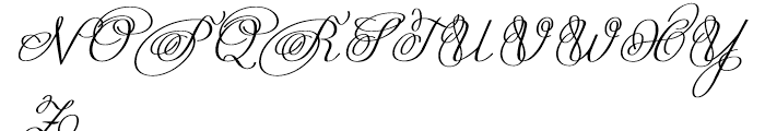 Astria Normal Font UPPERCASE
