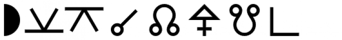 Astrotype P Font LOWERCASE