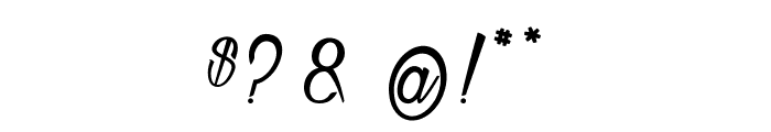 Atelier Omega  Font OTHER CHARS