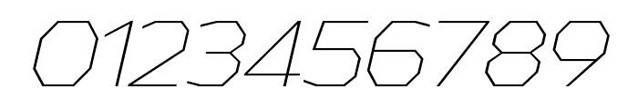 AthabascaEl-Italic Font OTHER CHARS