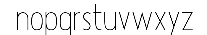 Atype 1 Light Font LOWERCASE