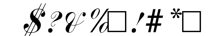 Author Font OTHER CHARS
