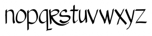 Austie Bost Matamata Regular Font LOWERCASE