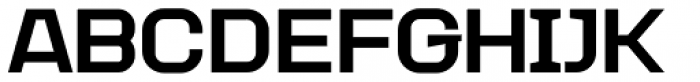 Augmento Extended Black Font UPPERCASE