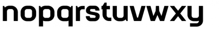 Augmento Extended Black Font LOWERCASE