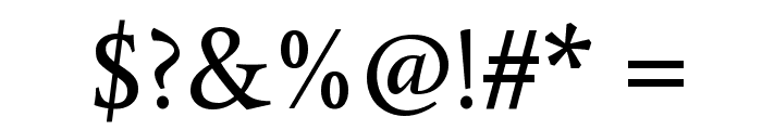 Average Font OTHER CHARS