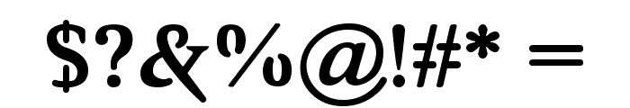 Awery SmallCaps Font OTHER CHARS