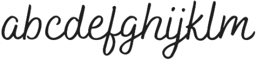 Bakerie Smooth Wide otf (400) Font LOWERCASE