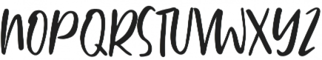 Ballystic Regular otf (400) Font UPPERCASE