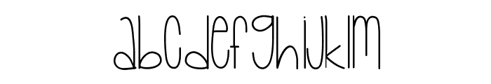 Baby Lexi Font LOWERCASE