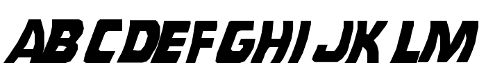 Back To The Future Font LOWERCASE