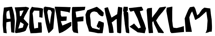 BarberaTwisted-Opaque Font LOWERCASE
