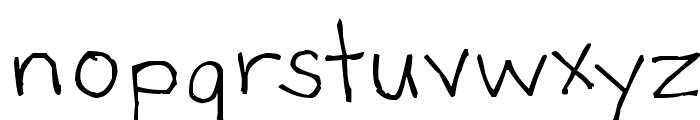Bartley Font LOWERCASE