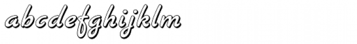Banner Font LOWERCASE