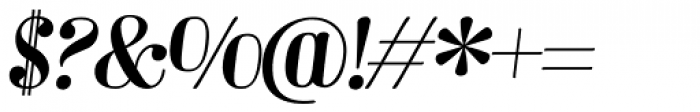 Barber 2 Italic Font OTHER CHARS