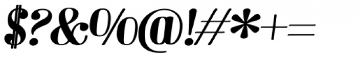 Barber 3 Italic Font OTHER CHARS