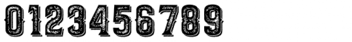 Barletta Stamp Shadow Font OTHER CHARS