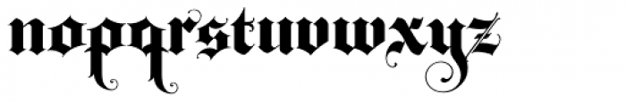 Baroque Text JF Font LOWERCASE