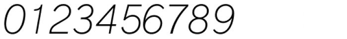 Basetica Thin Italic Font OTHER CHARS