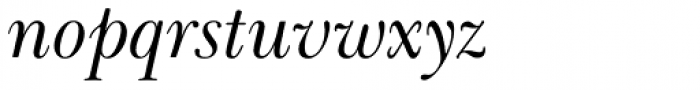 Baskerville LT Cyrilic Cyrillic Inclined Font LOWERCASE
