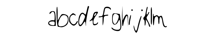 Be_Real__ Font LOWERCASE