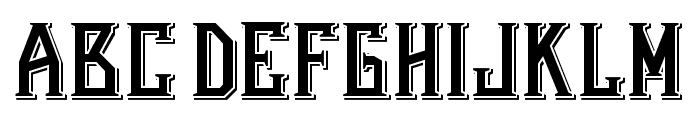 Bearded Lady Combined Font LOWERCASE